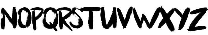 Bllody Rainan Font LOWERCASE