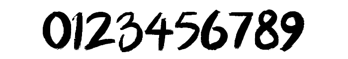 BllodyRainan Font OTHER CHARS