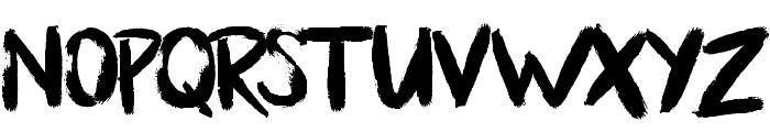 BllodyRainan Font LOWERCASE