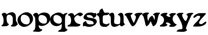 Blobfont G98 Font LOWERCASE