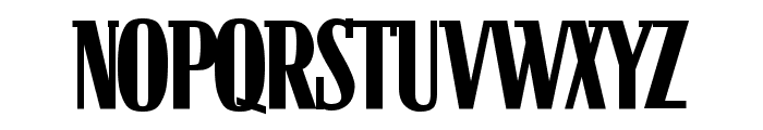 Bloc Bold Font UPPERCASE
