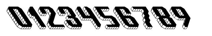 Block Tilt BRK Font OTHER CHARS