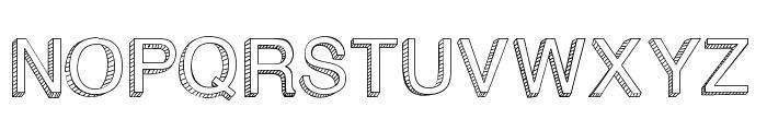 BlockBasic Font UPPERCASE