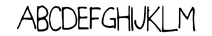 BlockItOut Font UPPERCASE