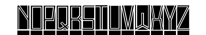 BlockTitling Standard Font UPPERCASE