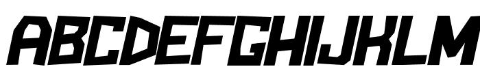 BlockemSockem-Italic Font UPPERCASE