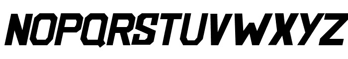 BlockemSockem-Italic Font LOWERCASE