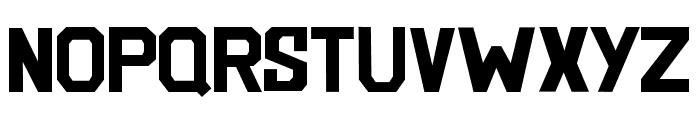 BlockemSockem Font LOWERCASE