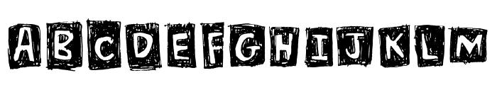 Blockhouse Font UPPERCASE