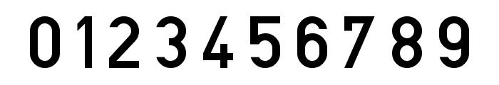 Blockschrift-f-r-Flugzeuge Font OTHER CHARS