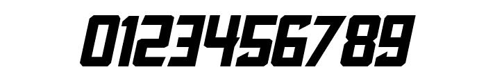 Blocktastic-Italic Font OTHER CHARS