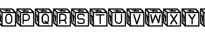 Blockys St Font UPPERCASE