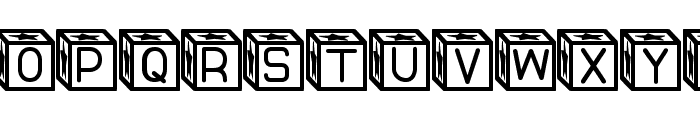 Blockys St Font LOWERCASE