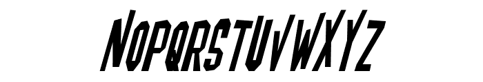 Blofeld Italic Font UPPERCASE