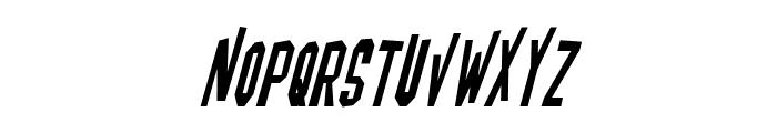 Blofeld Italic Font LOWERCASE