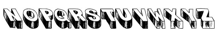 Blog the Impaler Caps Heavy Font UPPERCASE