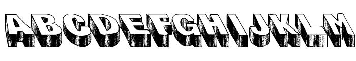 Blog the Impaler Caps Heavy Font LOWERCASE