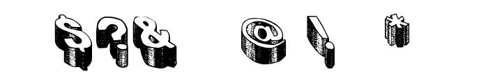 Blog the impaler Font OTHER CHARS