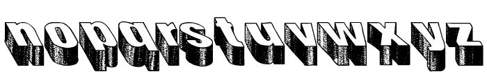 Blog the impaler Font LOWERCASE