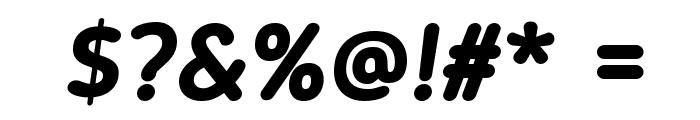 Blogger Sans Bold Italic Font OTHER CHARS