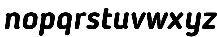 Blogger Sans Bold Italic Font LOWERCASE