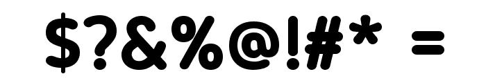 Blogger Sans Bold Font OTHER CHARS