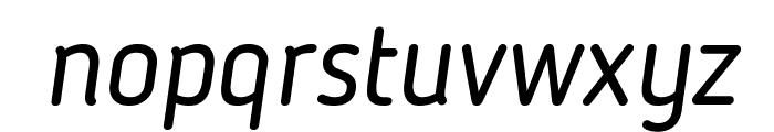 Blogger Sans Italic Font LOWERCASE