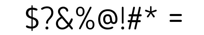 Blogger Sans Light Font OTHER CHARS