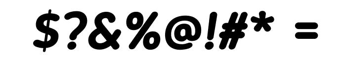 BloggerSans-BoldItalic Font OTHER CHARS