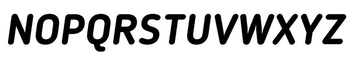 BloggerSans-BoldItalic Font UPPERCASE