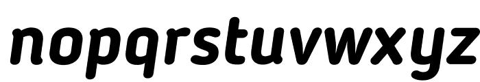 BloggerSans-BoldItalic Font LOWERCASE