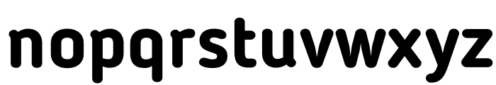 BloggerSans-Bold Font LOWERCASE