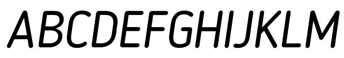 BloggerSans-Italic Font UPPERCASE