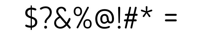 BloggerSans-Light Font OTHER CHARS