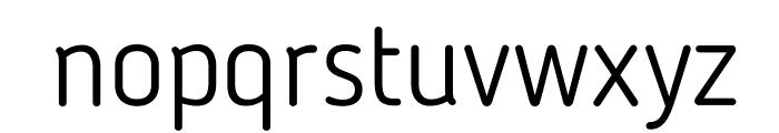 BloggerSans-Light Font LOWERCASE