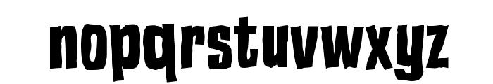 Blok Heavy Font LOWERCASE