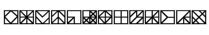 Blokscript Font UPPERCASE