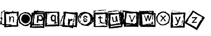 Bloktype Font UPPERCASE