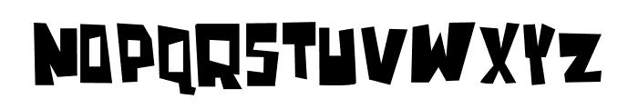 Blonkster Font LOWERCASE