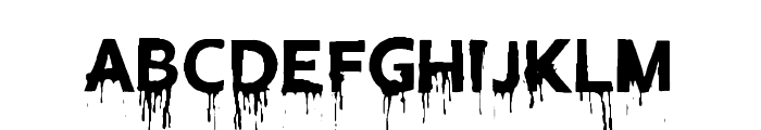 Blood Lust Font LOWERCASE