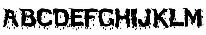 BloodFeastSW Font UPPERCASE