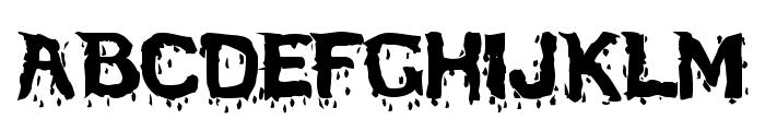 BloodFeastSW Font LOWERCASE