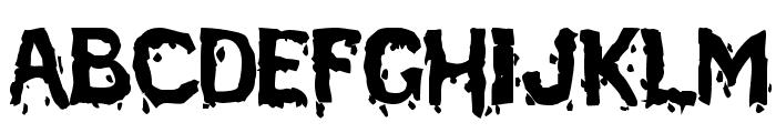 BloodFeast Font LOWERCASE