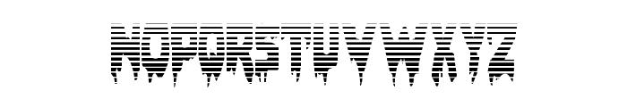 Bloodlust Gradient Regular Font UPPERCASE