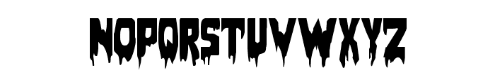 Bloodlust Regular Font LOWERCASE