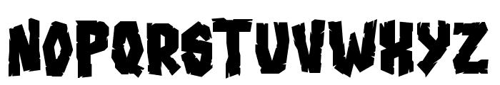 Blood'n Guts Font UPPERCASE