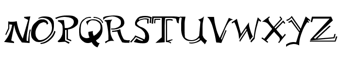 Bloomington Regular Font UPPERCASE