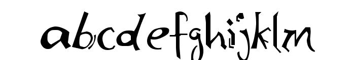 Bloomington Regular Font LOWERCASE