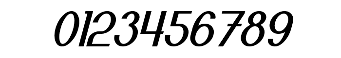 Bloomingworth Italic Font OTHER CHARS