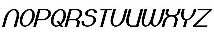 Bloomingworth Italic Font UPPERCASE